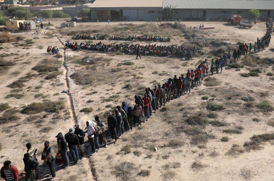 Sabratha, 3 000 migrants