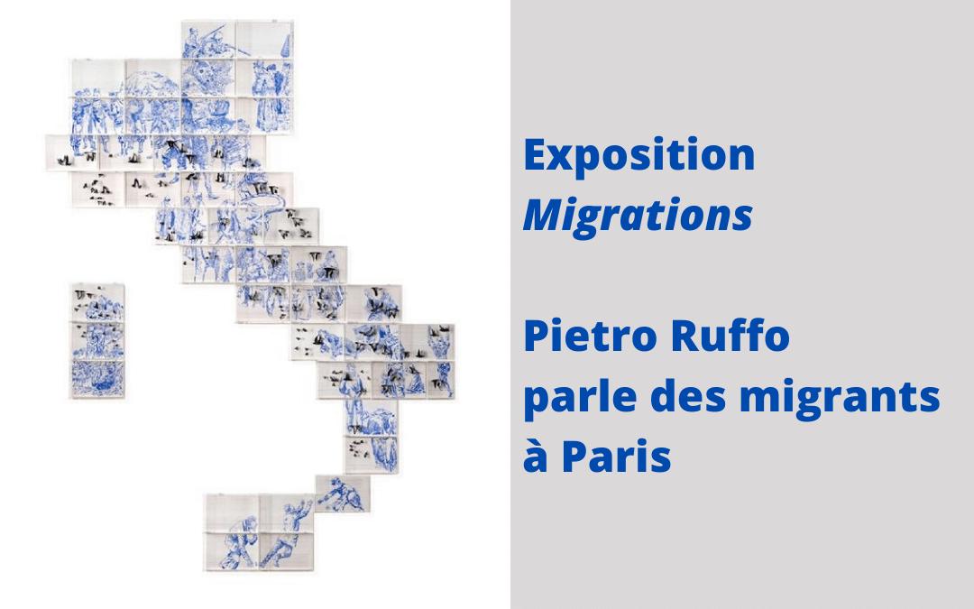 Exposition Migrations : Pietro Ruffo parle des migrants à Paris