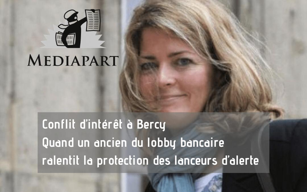 Conflit d'intérêt à Bercy Quand un ancien du lobby bancaire ralentit la protection des lanceurs d'alerte