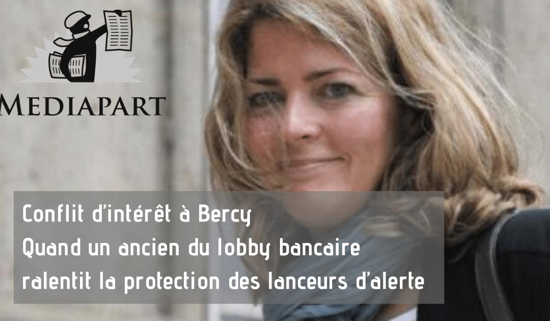 Bercy Conflit d'intérêt lobby Bancaire