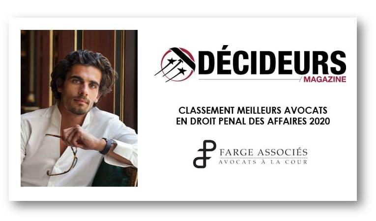 Farge-Associes-Classement-Decideurs-2020-Droit-Penal-des-Affaires