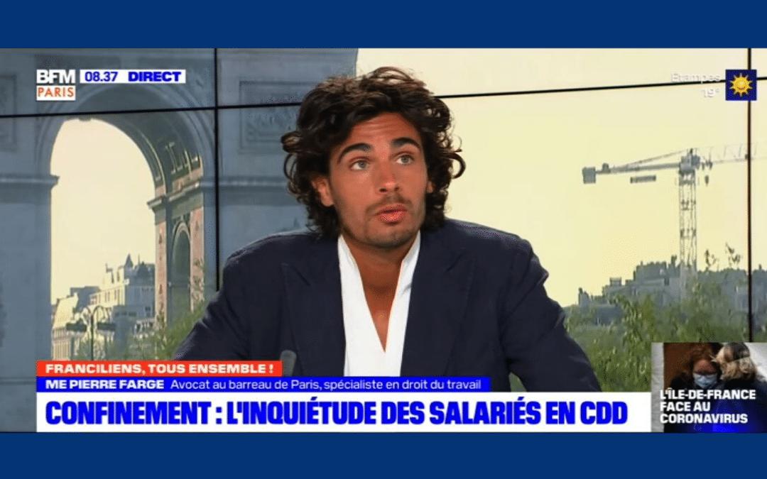 Pierre Farge à BFM Paris – Franciliens Tous Ensemble