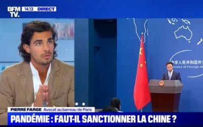 Coronavirus : faut-il sanctionner la Chine ? – Pierre Farge à BFM TV