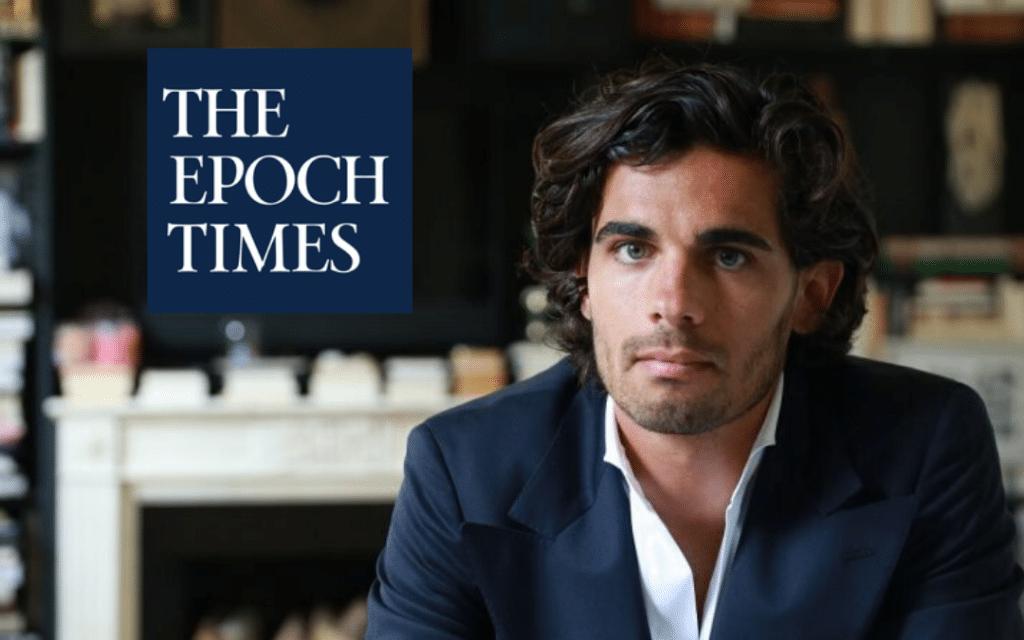 Pierre Farge (David Vives/Epoch Times)