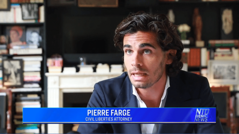 Pierre Farge à NTD TV Evening News