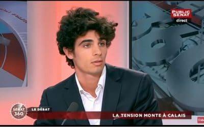 La tension monte à Calais – Public Sénat TV