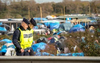 Le camp de Calais vu de l'intérieur