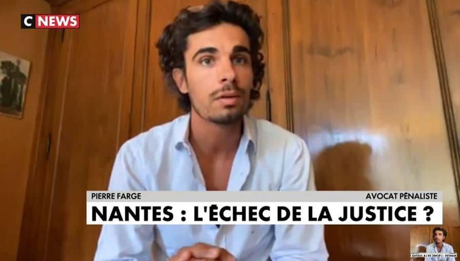 La multirécidive en droit pénal : Pierre Farge au JT de CNEWS