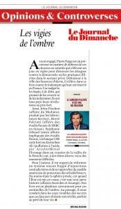Livre de Pierre Farge dans Le Journal du Dimanche