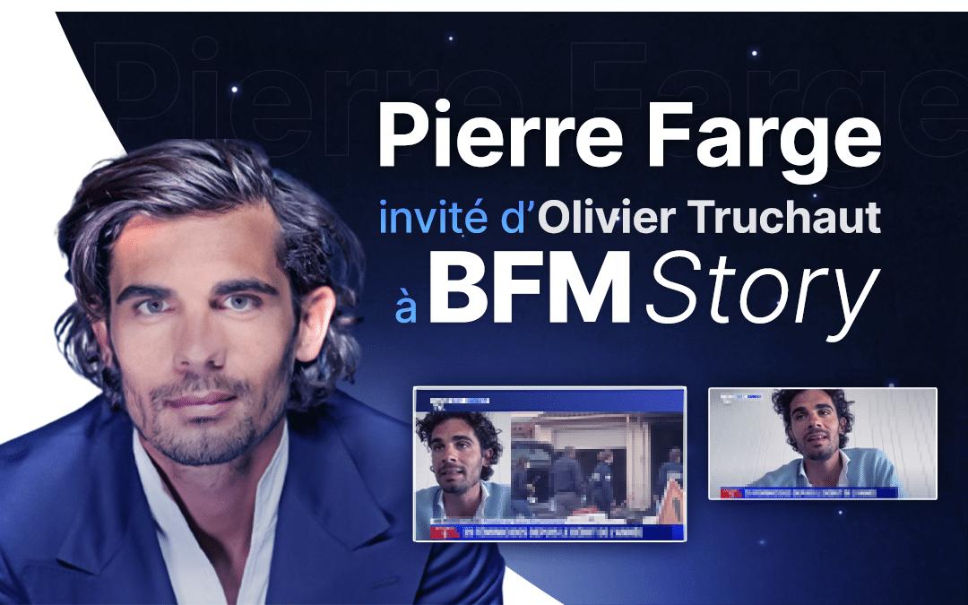 Pierre Farge invité de BFM Story à propos du féminicide à Mérignac